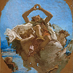 Giovanni Battista Tiepolo - Saint Roch Carried to Heaven by Angels