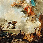 The Virgin of Carmel appearing to Saint Simon, Giovanni Battista Tiepolo