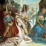 Giovanni Battista Tiepolo - Alexander the Great and the family of Darius (detail)
