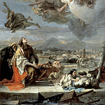 Giovanni Battista Tiepolo - Intercession of St. Thecla during the plague in Veneto 1630