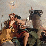 Fortitude and Justice, Giovanni Battista Tiepolo