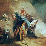 Giovanni Battista Tiepolo - Minerva Dictating Laws