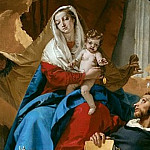 Virgin and Child with Saints Dominic and Hyacinth, Giovanni Battista Tiepolo