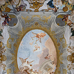Giovanni Battista Tiepolo - Allegory of Merit Accompanied by Nobility and Virtue