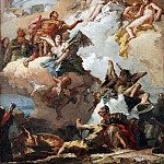 Giovanni Battista Tiepolo - The Apotheosis of Aeneas