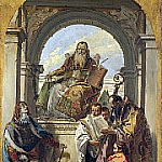 Four Saints, Giovanni Battista Tiepolo