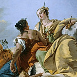 Peace and Justice, Giovanni Battista Tiepolo