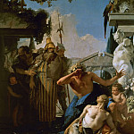 Giovanni Battista Tiepolo - The Death of Hyacinthus