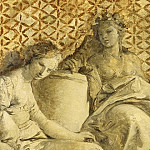 Giovanni Battista Tiepolo - Thalia and Melpomene