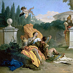 Giovanni Battista Tiepolo - Rinaldo and Armida in the Garden