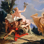 Giovanni Battista Tiepolo - Apollo Pursuing Daphne