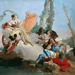 Rinaldo Enchanted by Armida, Giovanni Battista Tiepolo