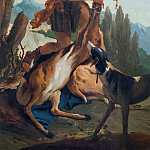 Hunter with Deer, Giovanni Battista Tiepolo