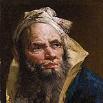 Giovanni Battista Tiepolo - Head of a Philosopher