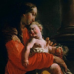 Jean Auguste Dominique Ingres - Virgin and Child
