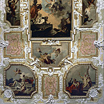Giovanni Battista Tiepolo - Our Lady of Carmel giving the scapular to St. Simon Stock