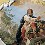 The prophet Daniel, Giovanni Battista Tiepolo