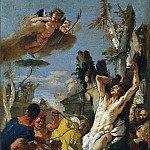 Giovanni Battista Tiepolo - The Martyrdom of St. Sebastian