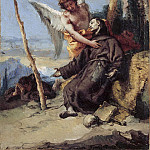 Giovanni Battista Tiepolo - Stigmatization of Saint Francis