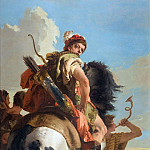 Hunter on Horseback, Giovanni Battista Tiepolo