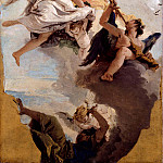 Virtue, Nobility and Ignorance, Giovanni Battista Tiepolo