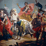 Triumph of Aurelian, Giovanni Battista Tiepolo