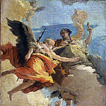 Allegory of Virtue and Nobility, Giovanni Battista Tiepolo