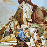 Giovanni Battista Tiepolo - The Judgment of Solomon, detail