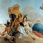 Giovanni Battista Tiepolo - The Triumph of Truth (detail)