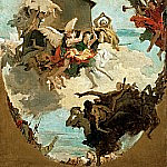 The Miracle of the Holy House of Loreto, Giovanni Battista Tiepolo