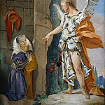 Sarah and the Angel, Giovanni Battista Tiepolo