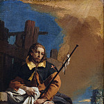 Giovanni Battista Tiepolo - Saint Roch as a Pilgrim