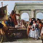 Giovanni Battista Tiepolo - The Charlatan