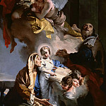 Giovanni Battista Tiepolo - The Education of the Virgin Mary