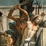 Giovanni Battista Tiepolo - The Flagellation of Christ