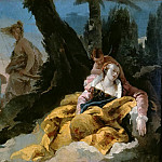 Giovanni Battista Tiepolo - Rinaldo leaves Armida