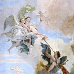 Giovanni Battista Tiepolo - Triumph of Strength and Wisdom over Ignorance