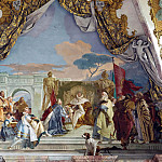 The Investiture of Herold as Duke of Franconia, Giovanni Battista Tiepolo