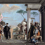 Giovanni Battista Tiepolo - Arrival of Henry III at the Villa Contarini