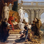 Giovanni Battista Tiepolo - Maecenas Presenting The Liberal Arts To The Emperor Augustus
