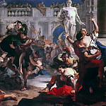 Rape of the Sabine Women, Giovanni Battista Tiepolo