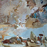 Apollo and the Continents, detail – Asia, Giovanni Battista Tiepolo