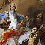 Giovanni Battista Tiepolo - The Vision of St. Anne