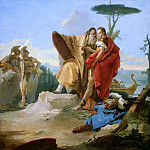 Rinaldo and the Magus of Ascalon, Giovanni Battista Tiepolo