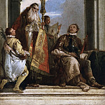 San Procolo bishop of Verona visits the Saints Firmus and Rusticus, Giovanni Battista Tiepolo