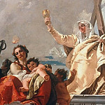 Giovanni Battista Tiepolo - Faith, Love and Hope