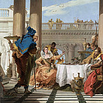 The Banquet of Cleopatra, Giovanni Battista Tiepolo