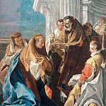 The Communion of St. Lucia, Giovanni Battista Tiepolo