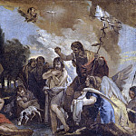 Baptism of Christ [workshop], Giovanni Battista Tiepolo