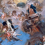 Saint Dominic in Glory, Giovanni Battista Tiepolo